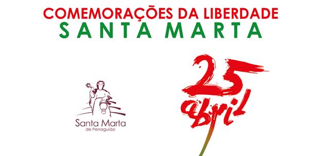 Comemorações da Liberdade – SANTA MARTA