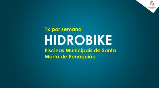 HIDROBIKE – Nova modalidade nas Piscinas Municipais