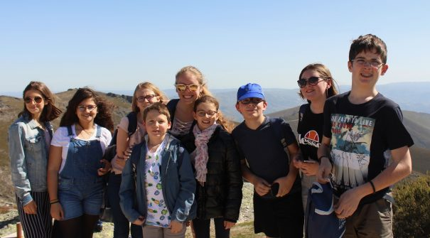 Crianças de Larçay visitaram Santa Marta de Penaguião