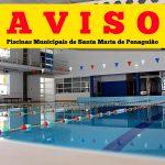 Aos Penaguienses e utilizadores das piscinas municipais