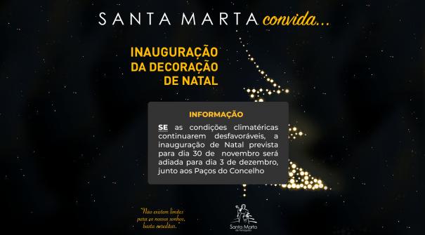 Inauguração da Decoração de Natal – 2018