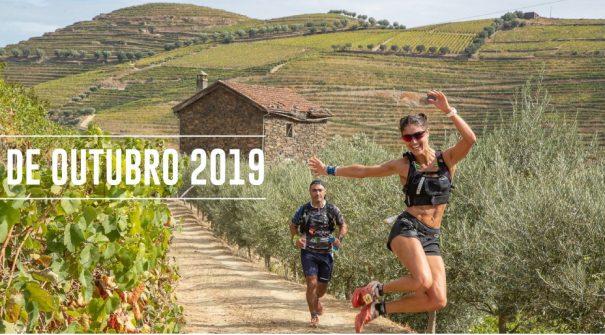 Partida dos atletas do Douro Ultra Trail 2019
