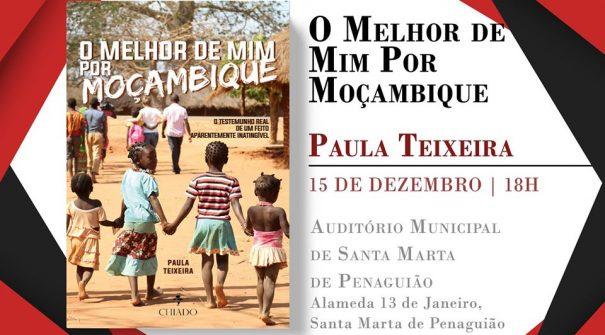 """Sessão de apresentação do livro """"Melhor de Mim Por Moçambique"""" de Paula Teixeira"""