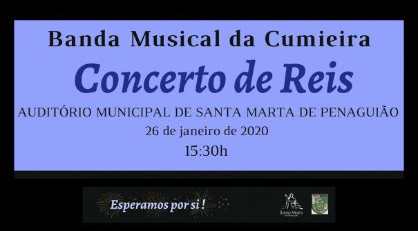 Concerto de Reis – Banda Musical da Cumieira