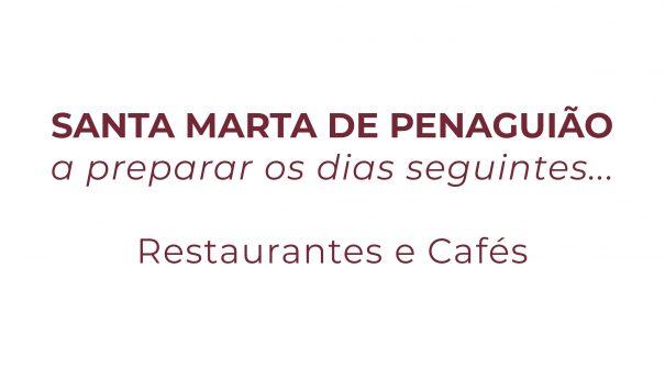 SANTA MARTA DE PENAGUIÃO a preparar os dias seguintes