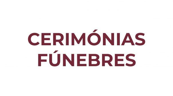 Cerimónias Funebres