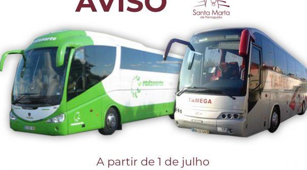 AVISO – Horários para serviços mínimos de transporte