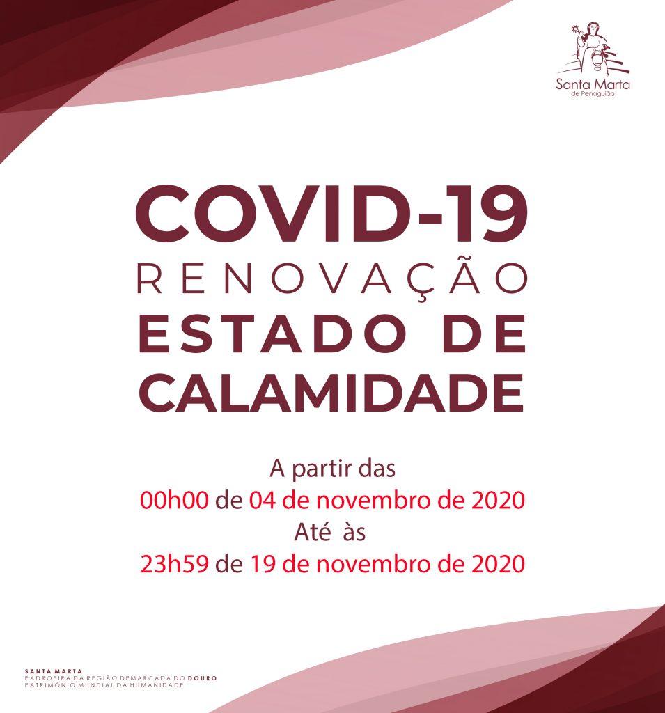 renovação - calamidade - 19nov