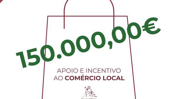 Autarquia investe 150.000€ em Programa Extraordinário de Apoio e Incentivo ao Comércio Local