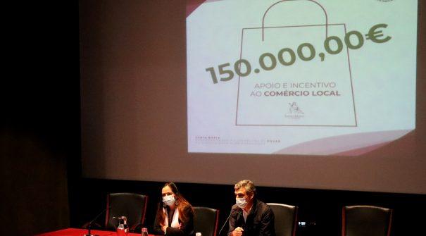 Autarquia já atribuiu mais de 13 mil euros em apoios financeiros diretos